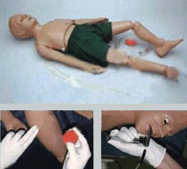 SD-T335全功能五岁儿童护理及CPR模拟人